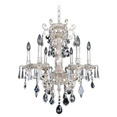 Marcello 6 Light Crystal Chandelier