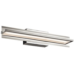 Elan Lighting Rissel Satin Nickel LED Sconce