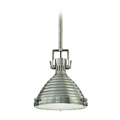Modern Pendant Light in Antique Nickel Finish