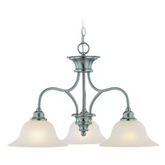 Craftmade Linden Lane Satin Nickel Chandelier
