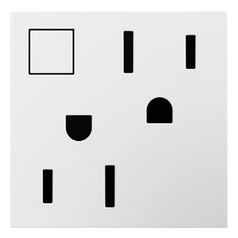 Legrand Adorne Energy-Saving On / Off Outlet