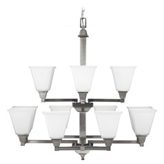 Sea Gull Lighting Denhelm Brushed Nickel Chandelier