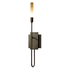 Hubbardton Forge Lighting Lisse Dark Smoke Sconce