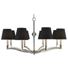 Golden Lighting Waverly Pewter Chandelier
