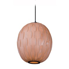 Maxim Lighting Norwood Black Pendant Light with Oblong Shade