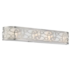 George Kovacs Links Brushed Nickel Bathroom Light