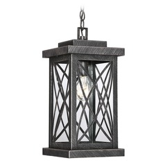 Brushed Bronze Outdoor Hanging Light Norwalk Collection by Savoy House