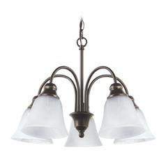 Sea Gull Lighting Windgate Heirloom Bronze LED Mini-Chandelier