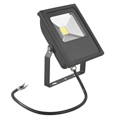 LED Flood Light Black 20-Watt 120v-277v 1840 Lumens 4000K 110 Degree Beam Spread