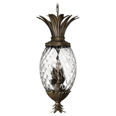 Tropical Style Bronze Pendant Light