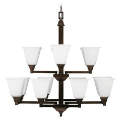 Sea Gull Lighting Denhelm Burnt Sienna Chandelier