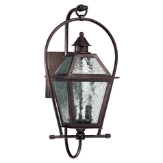 Quorum Lighting Bourbon Street Oiled Bronze Outdoor Wall Light