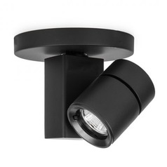 WAC Lighting Black LED Monopoint Spot Light 2700K 852LM