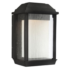 Feiss Lighting Mchenry Textured Black LED Outdoor Wall Light