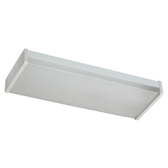 Prismatic Acrylic Flushmount Light White Quorum Lighting