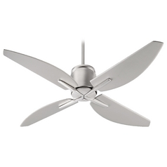 Quorum Lighting Kai Satin Nickel Ceiling Fan Without Light