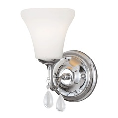 Sea Gull Lighting West Town Chrome Sconce