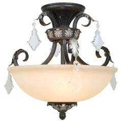 Semi-Flush Ceiling Light