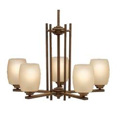 Kichler Eileen 5-Light Chandelier in Olde Bronze