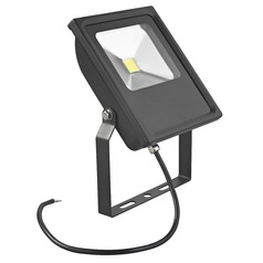 LED Flood Light Black 30-Watt 120v-277v 2740 Lumens 4000K 110 Degree Beam Spread