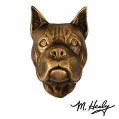 Michael Healy Designs Highlighted Patina Door Knocker