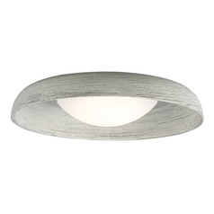 Concrete LED Flushmount Ceiling Light by Tech Lighting