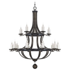 Savoy House Reclaimed Wood Chandelier