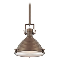 Modern Pendant Light in Historic Bronze Finish