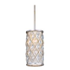 Maxim Lighting Diamond Golden Silver Mini-Pendant Light with Cylindrical Shade  sc 1 st  Destination Lighting & Maxim Lighting Mini-Pendant Lights | Destination Lighting