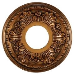Medallion in Antique Bronze Finish