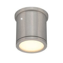 WAC Lighting Tube Brushed Aluminum LED Close To Ceiling Light