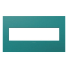 Legrand Adorne Turquoise Blue 4-Gang Switch Plate