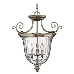 Convertible Foyer Pendant Light/Semi-Flush