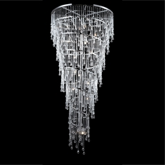 Avenue Lighting Hollywood Blvd Polished Nickel Pendant Light