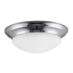 Sea Gull Lighting Nash Chrome LED Flushmount Light