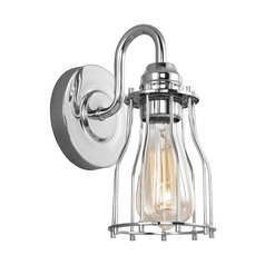 Feiss Lighting Calgary Chrome Sconce