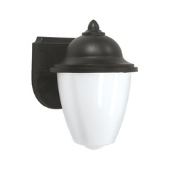 Sea Gull Lighting Lormont Black LED Outdoor Wall Light