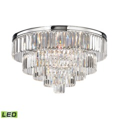 Elk Lighting Palacial Polished Chrome LED Semi-Flushmount Light