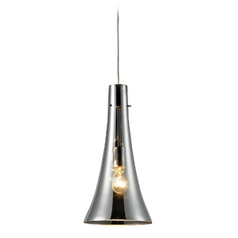 Mini-Pendant Light with Mercury Glass