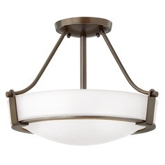 Hinkley Lighting Hathaway Olde Bronze Semi-Flushmount Light