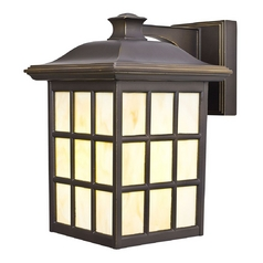 Energy Star Outdoor Wall Light - 11-1/8-Inches Tall
