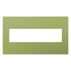 Legrand Adorne Lichen Green 4-Gang Switch Plate