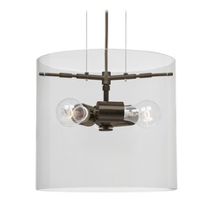 Besa Lighting Pahu Bronze Pendant Light
