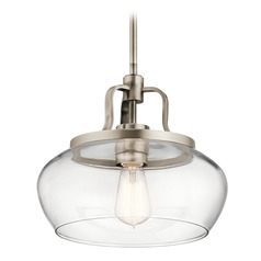 Transitional Pendant Light Pewter Davenport by Kichler Lighting