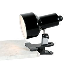 Lite Source Lighting Clip-On Ii Black Clip-On Lamp
