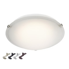 LED Low Profile 16-Inch Flushmount Ceiling Light - 100 Watt Equivalent