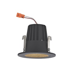 Cone Trim LED Recessed Module for 2-Inch Cans - Black Finish