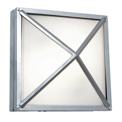 Access Lighting Oden Satin Outdoor Wall Light