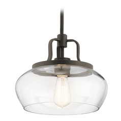 Transitional Pendant Light Olde Bronze Davenport by Kichler Lighting