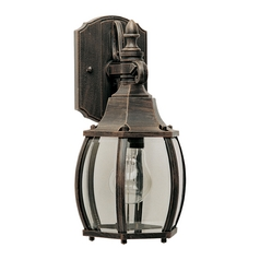 Maxim Lighting Crown Hill Rust Patina Outdoor Wall Light